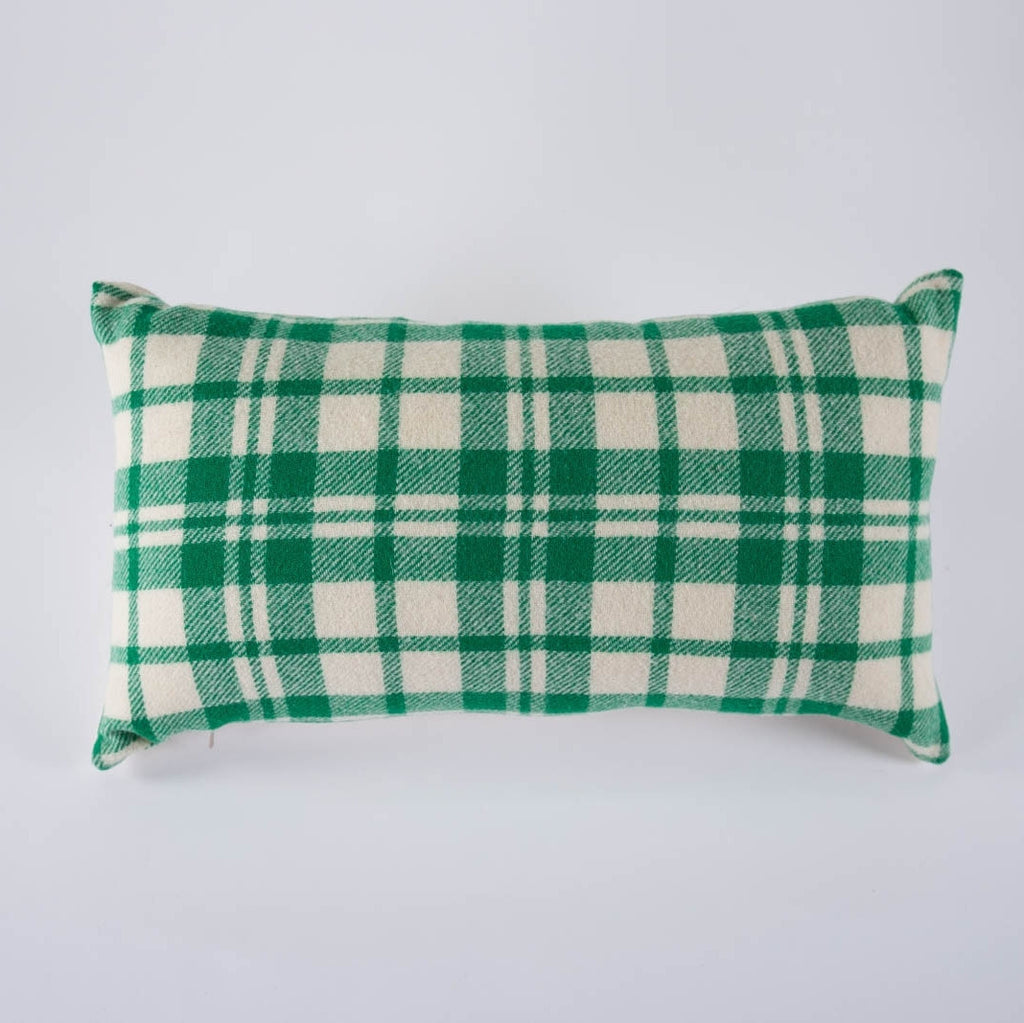 Wool Plaid Pillow