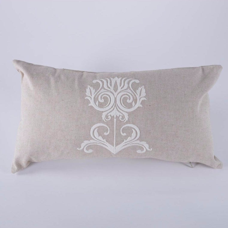 Jacobean Flower Pillow