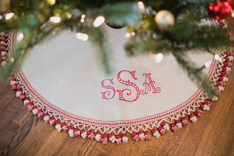 Peppermint Tree Skirt
