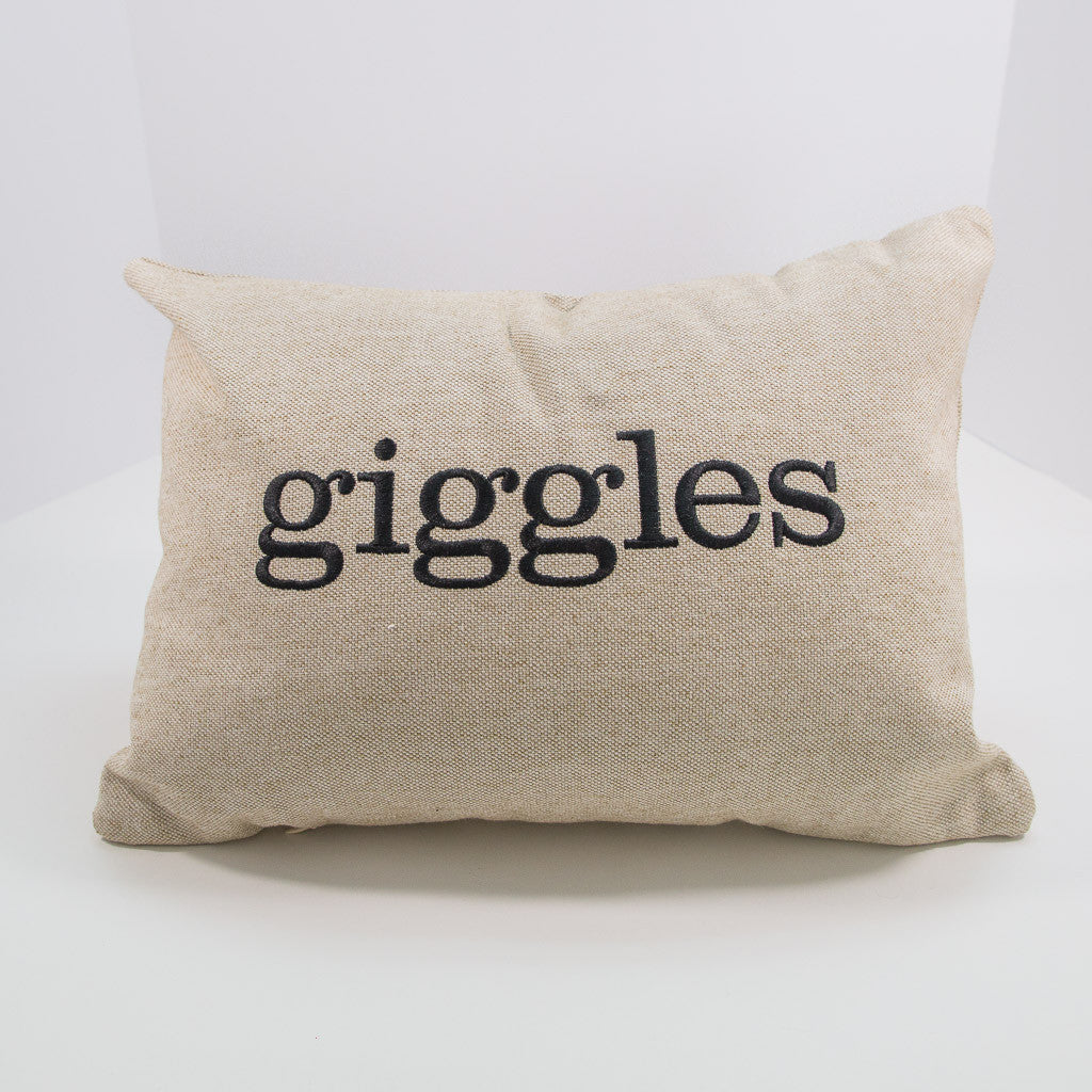 Giggles Pillow