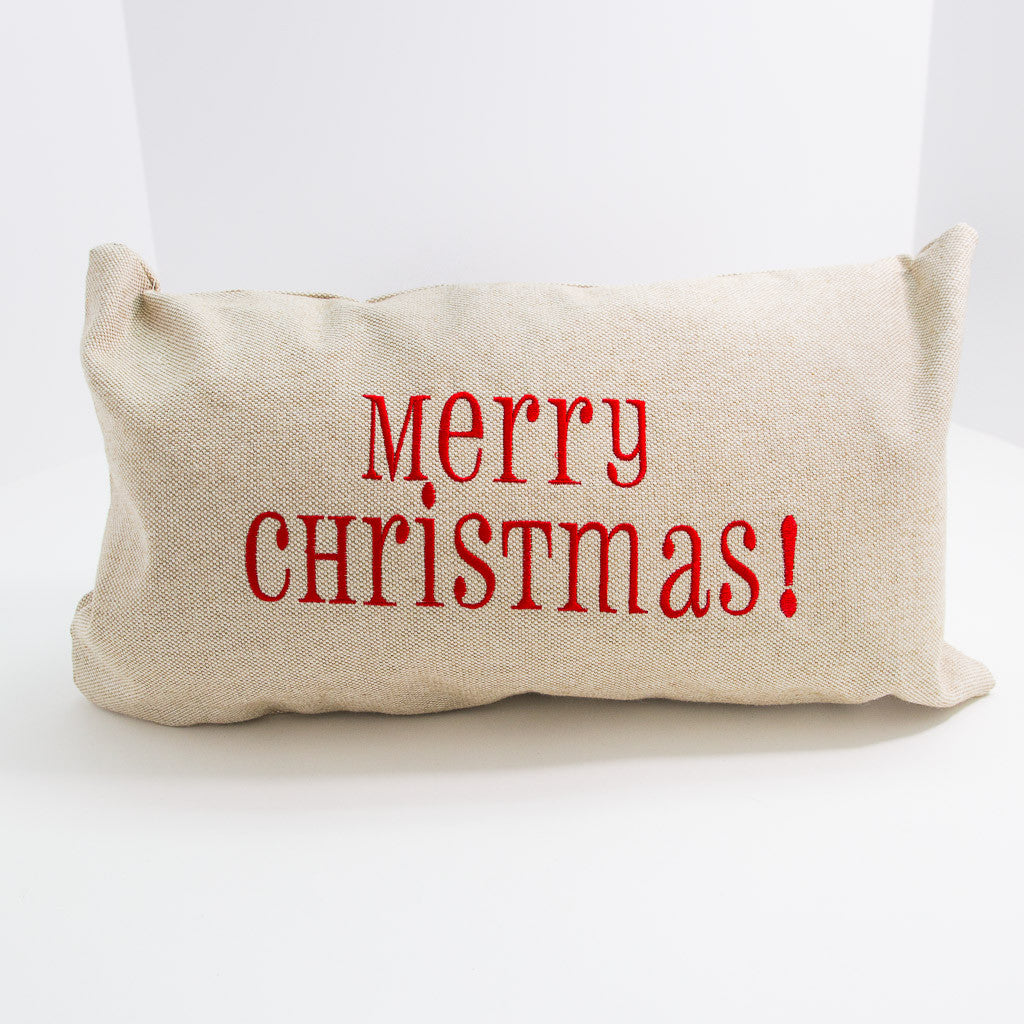 Merry Christmas! Pillow
