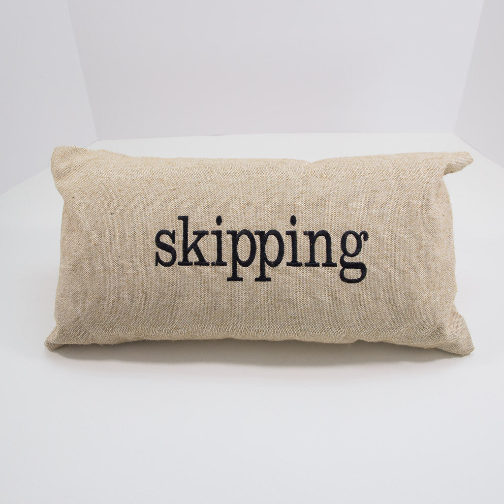Skipping Pillow