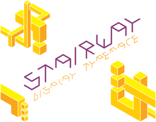Load image into Gallery viewer, Stairway Typeface