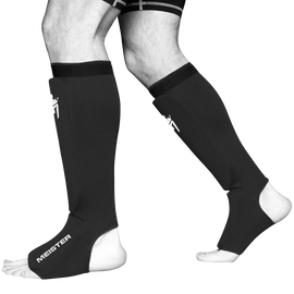 Meister Elastic Cloth Shin and Instep Padded Guards