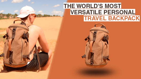 Knörr - The World's Most Airline Approved Personal Backpack | Perfect for Travel, Work, School, and Gym Use - HercLeon