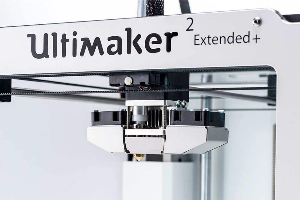 Ultimaker Extended 2+ changeable nozzles