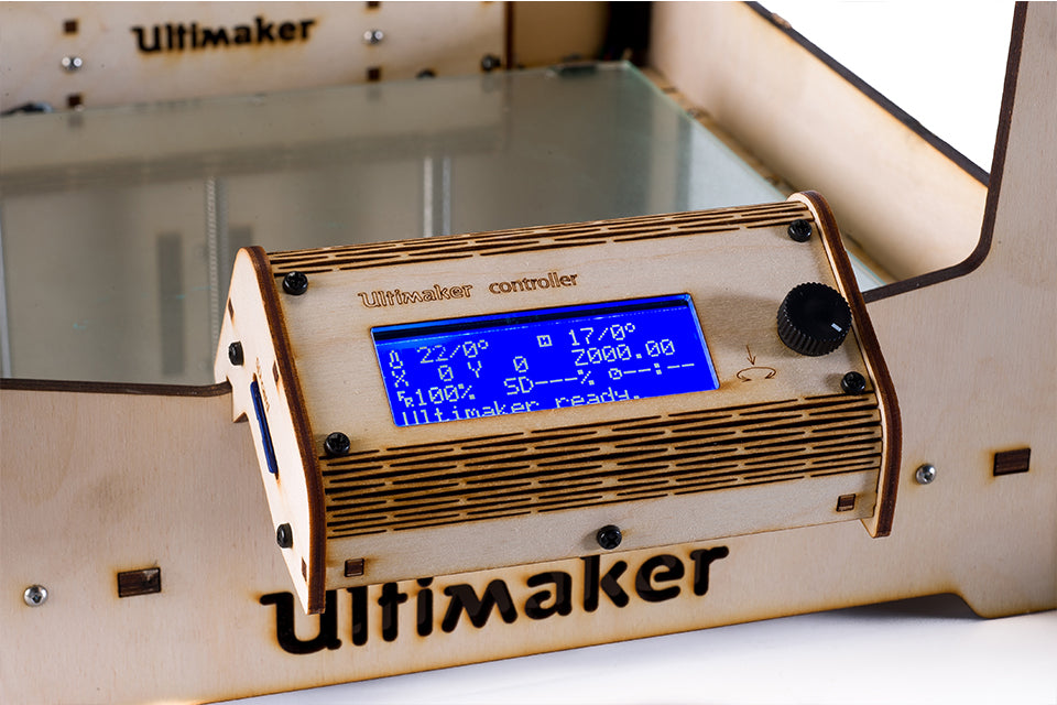 Ultimaker Original+ controller screen