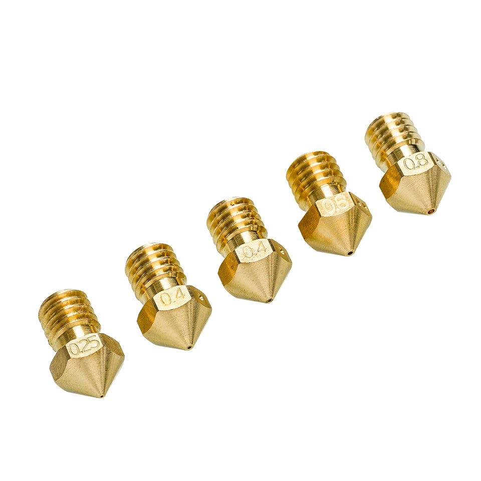Variety pack of nozzles for Ultimaker 2+
