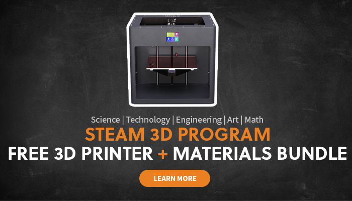 STEAM 3D printer program