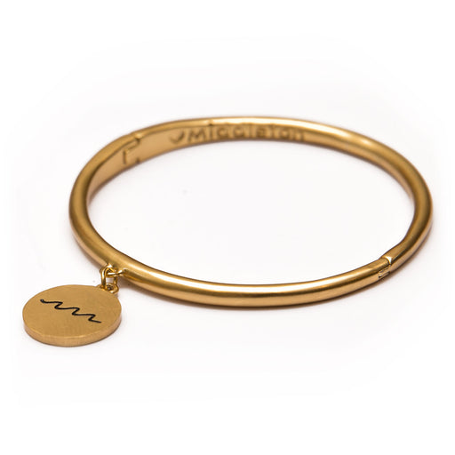 Wave Token Bangle