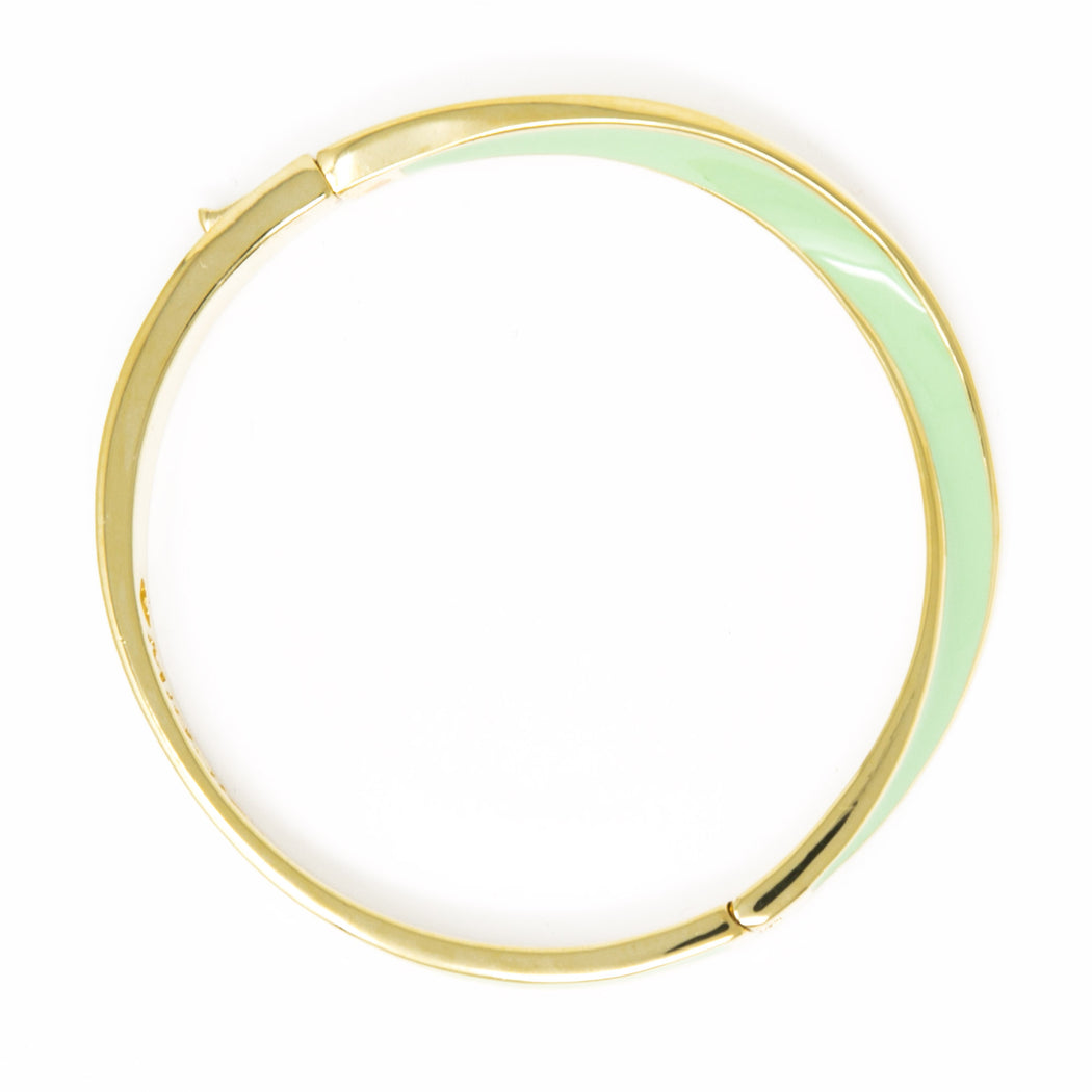 Turned Brass Bangle