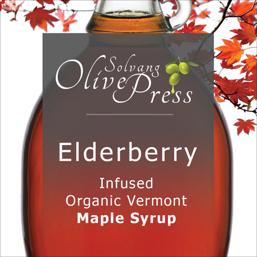 Maple Syrup - Elderberry Infused