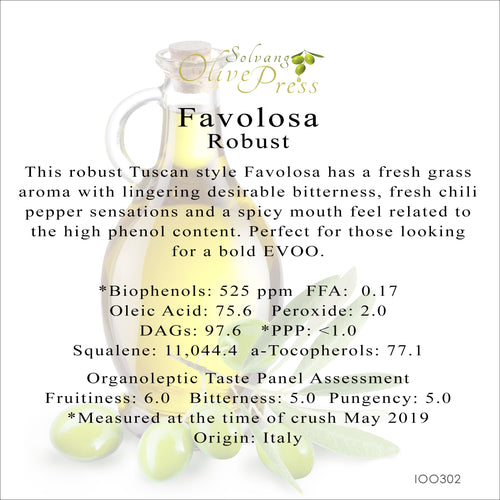 Favolosa Premium Extra Virgin Olive Oil