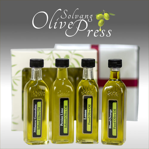 Flavored Olive Oils - Citrus & Spice - Set of 4