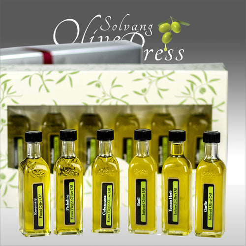 Flavored Olive Oils - Set of 6 X 60 ML