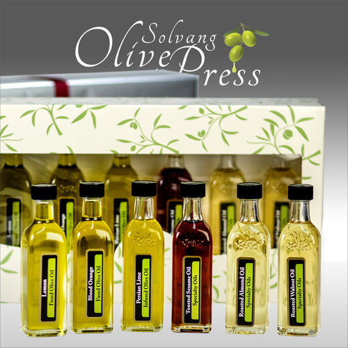 Flavored Olive Oils and Specialty Oils - Set of 6 X 60 ML