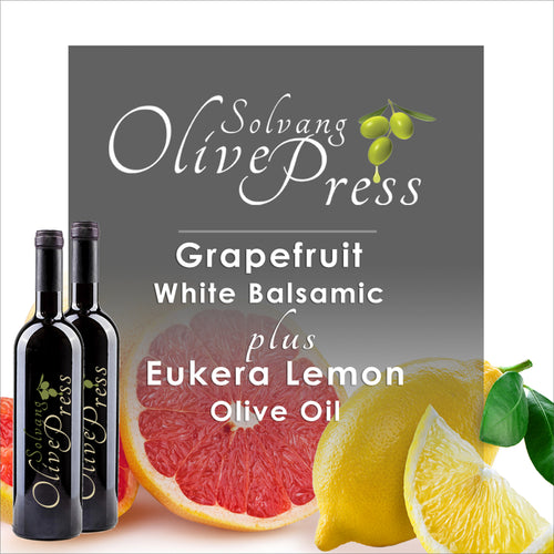 Grapefruit Balsamic Vinegar and Lemon Olive Oil