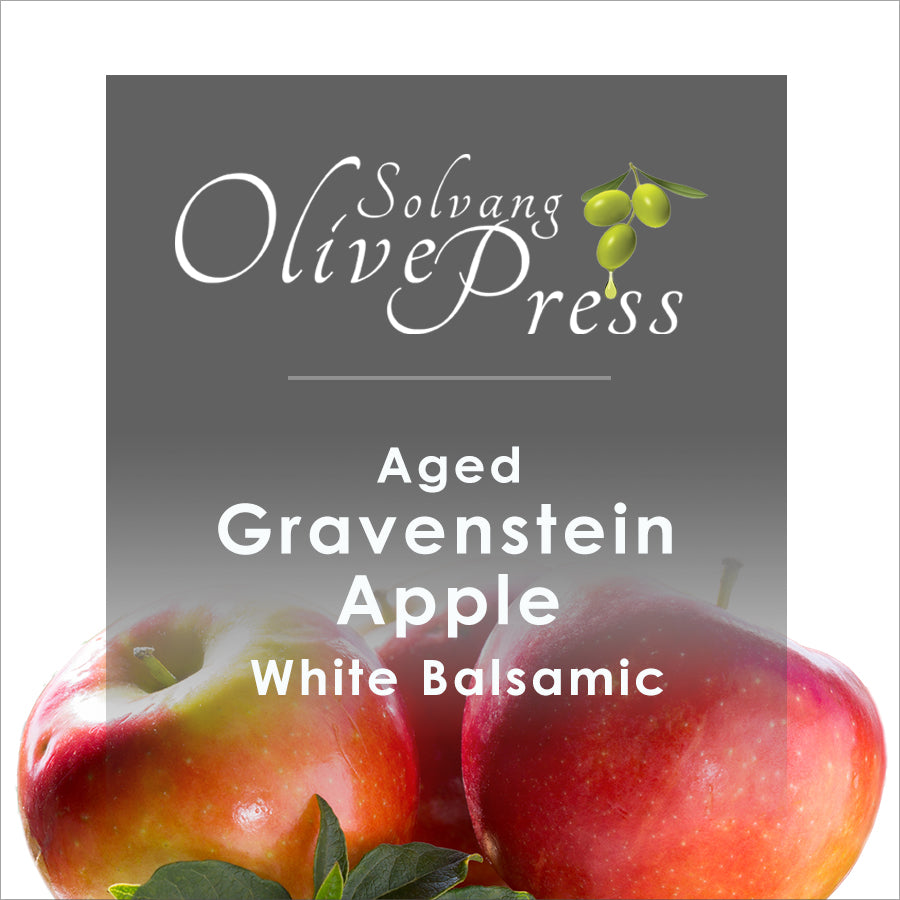Gravenstein Apple Aged White Balsamic Vinegar