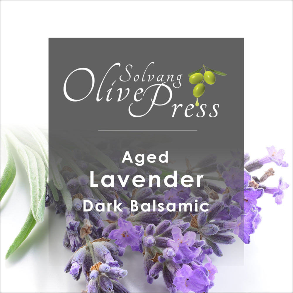 Lavender Aged Dark Balsamic Vinegar