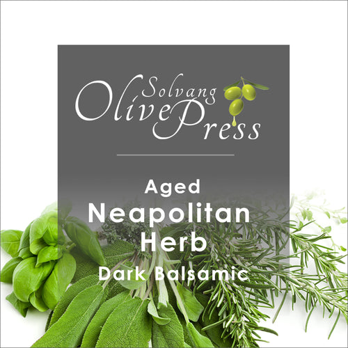 Neapolitan Herb Aged Dark Balsamic Vinegar