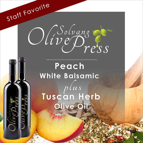 Cinnamon Pear Balsamic Vinegar and Blood Orange Olive Oil
