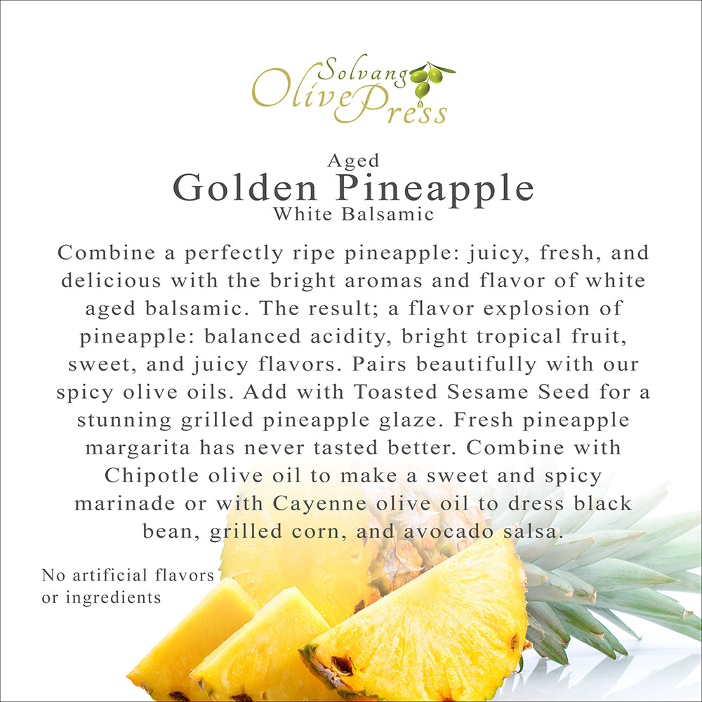 Golden Pineapple Aged White Balsamic Vinegar