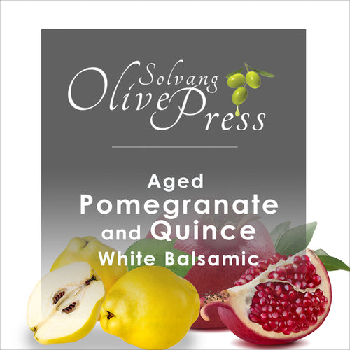 Pomegranate-Quince Aged White Balsamic Vinegar