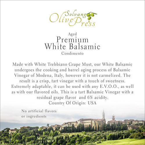 A-Premium Aged White Balsamic Vinegar