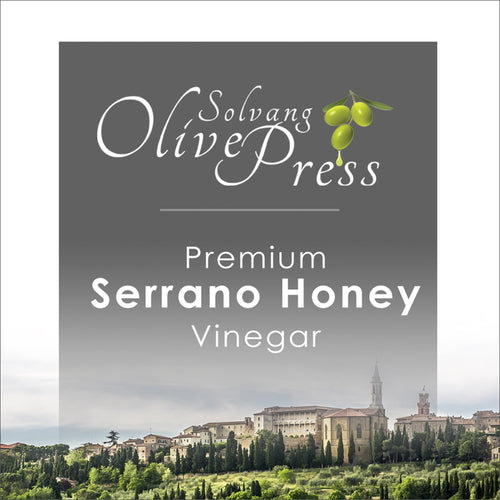 100% Serrano Honey Vinegar