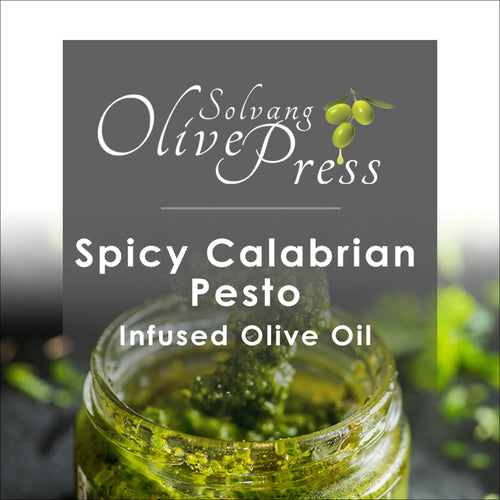 Spicy Calabrian Pesto Infused Olive Oil