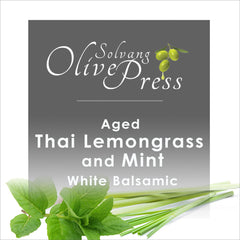 Thai Lemongrass Mint Aged White Balsamic Vinegar