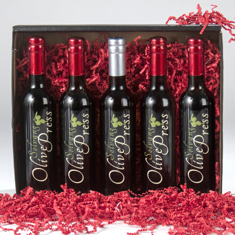 Gift Set #5 - Five Medium Bottles, 375 ML Each