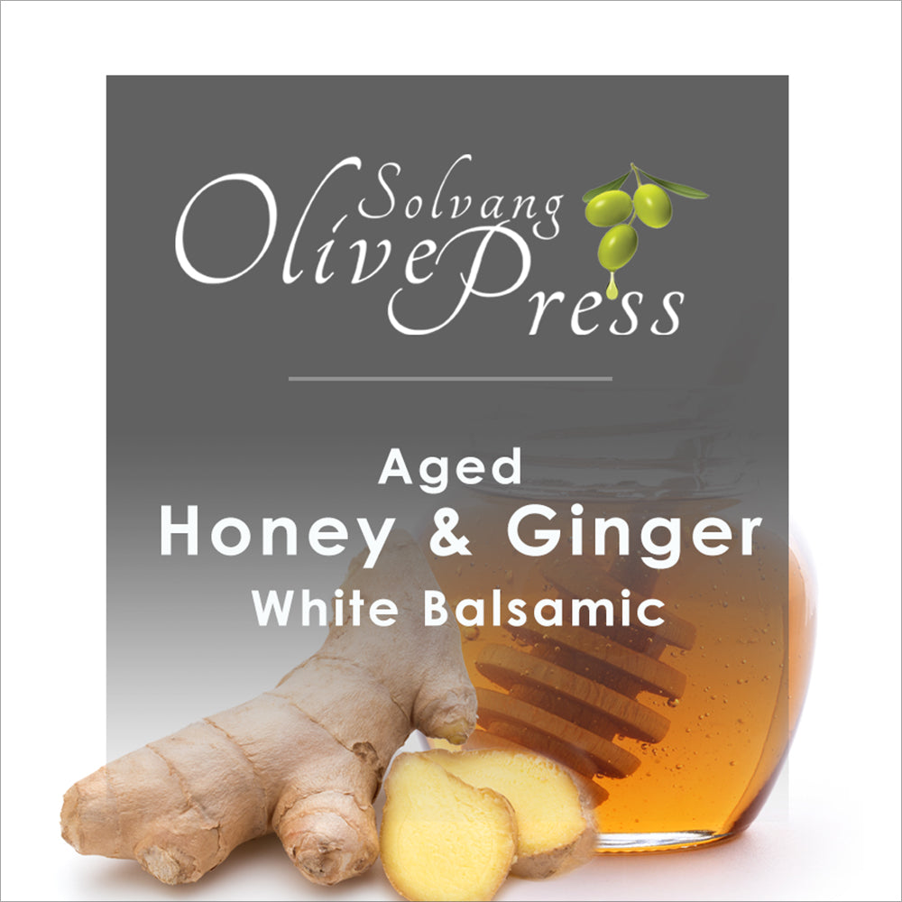 Honey Ginger Aged White Balsamic Vinegar