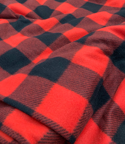 Polar Buffalo plaid rouge