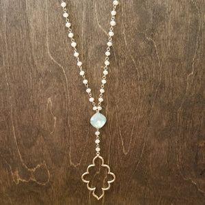 Mint Ornate Necklace