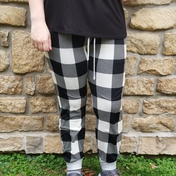 Buffalo Plaid Joggers