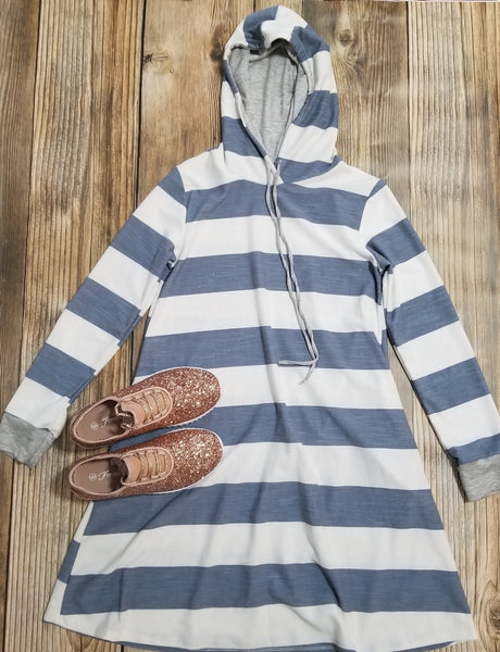 Weekender Hoodie Tunic Dress