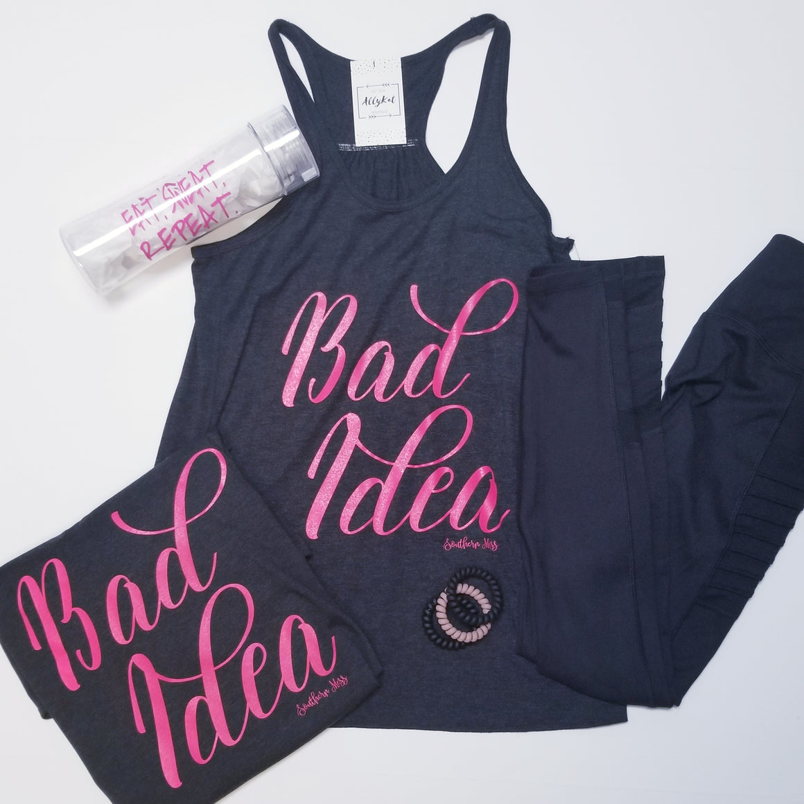Bad Idea Graphic Tank and Tee
