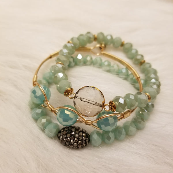 Winter Wonderland Bracelet Stack