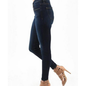 High Waist Skinny Denim