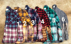 Distressed Flannels