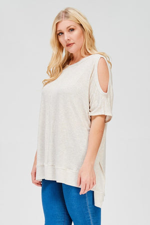 Boxy Key-hole Top