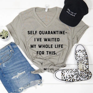 Self Quarantine Tee