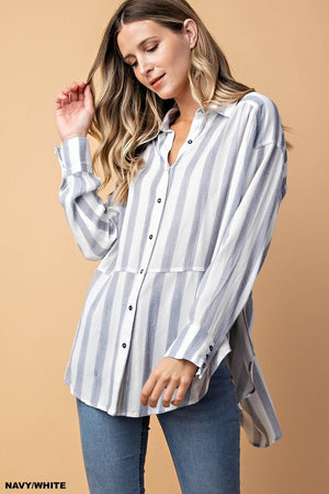 Fun and Flirty Stripe Top