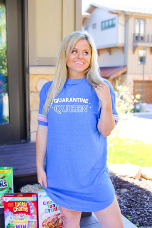 Quarantine QUEEN Sleepshirt
