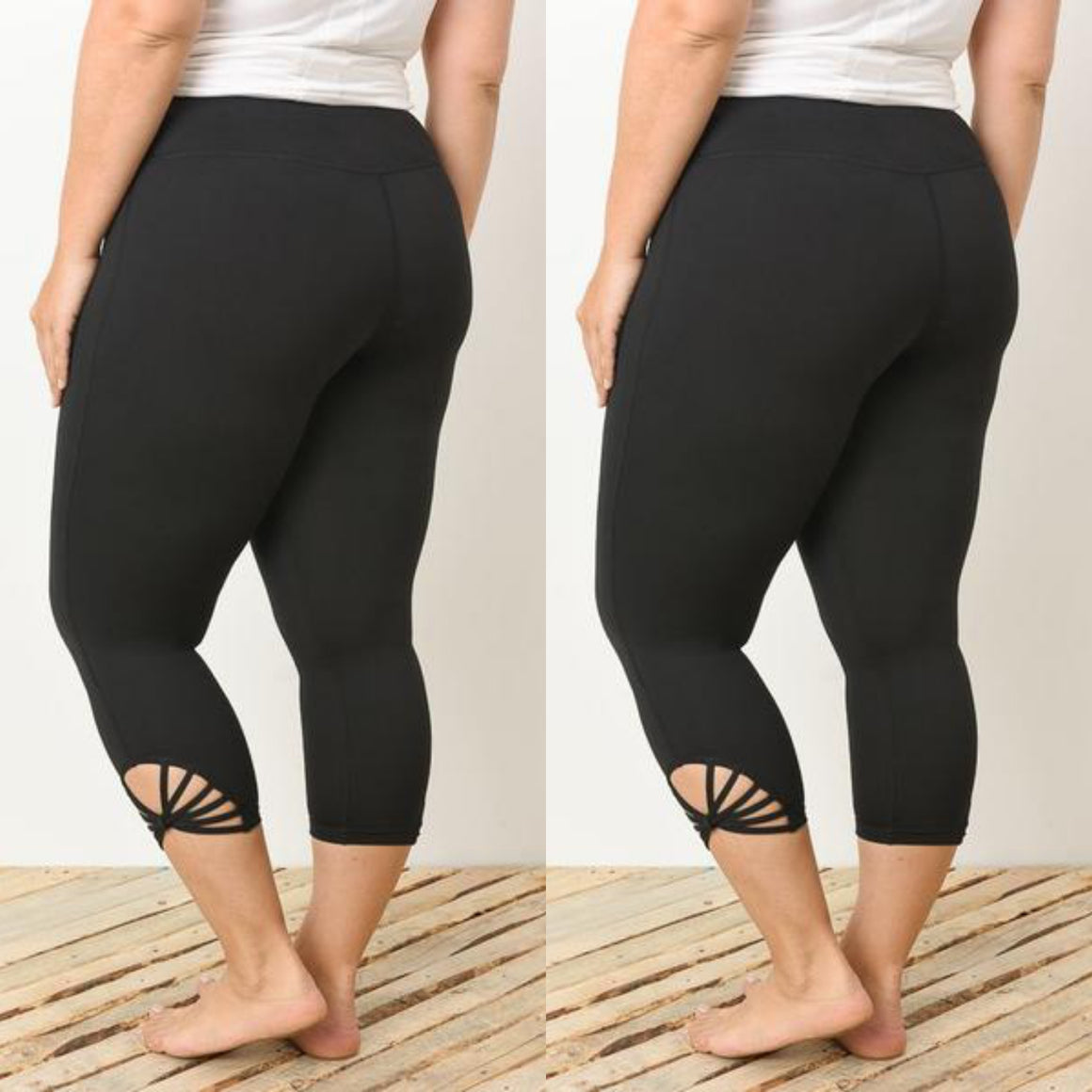 Capri Athletic Leggings
