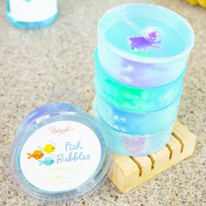 Fish Bubbles Kids Bar Soap