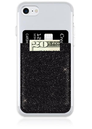 Faux Leather Cell Phone Pocket