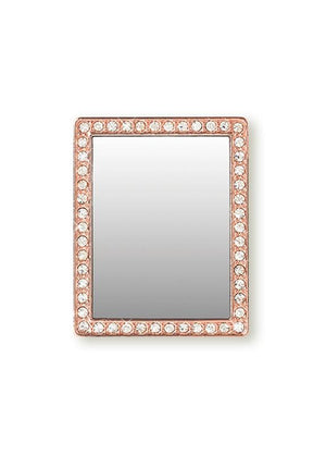 Cell Phone Mirror With Crystals