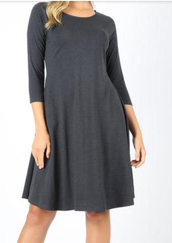 A-Line Pocket Dress